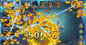 Thu hút các loại cá bằng cá item trong Game khi hack bắn cá full tiền