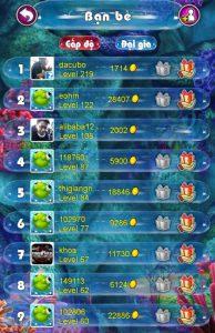 Bảng xếp hạng người chơi và nhiều hình thức thú vị khác