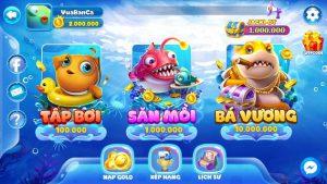 Tính năng đa dạng, phong phú của trùm bắn cá đổi thưởng 3d