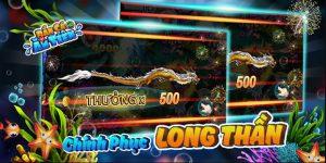 Rồng đại dương khủng với số tiền thưởng hấp dẫn khi săn được trong Game bắn cá ăn tiền
