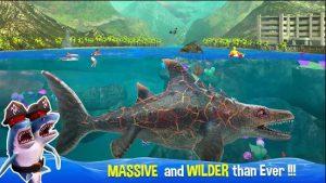 Hình ảnh cá mập biển sâu săn mồi khủng lồ khi chơi tới sự biến hình cuối cùng
