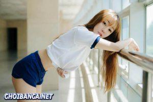 Buổi chụp hình phong cách học sinh của Vương Ngữ Thuần trong ánh nắng ban mai